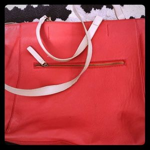 Zara basic small tote bag